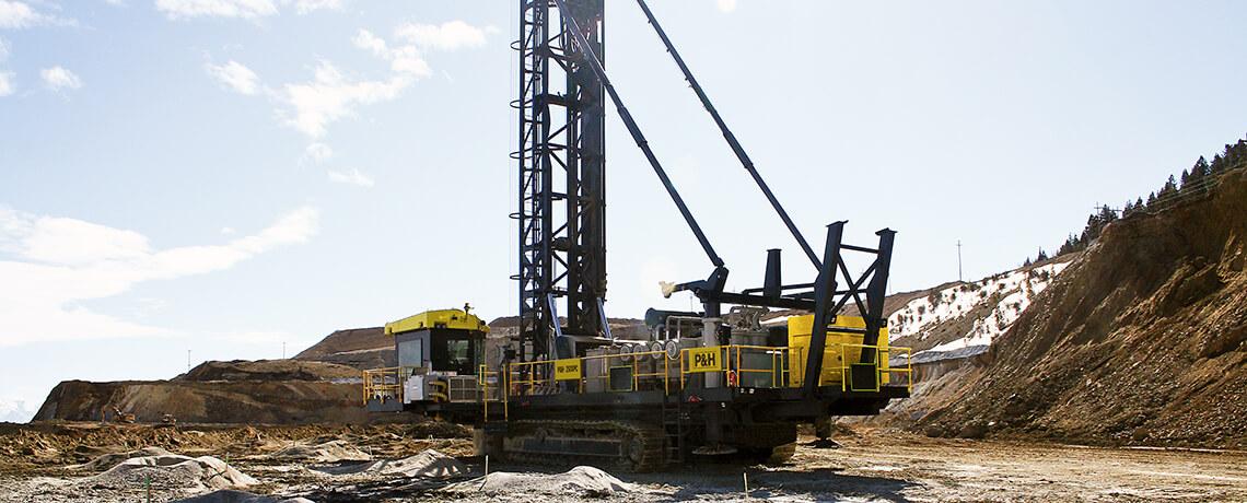 P&H, Surface mining, Blasthole Drills