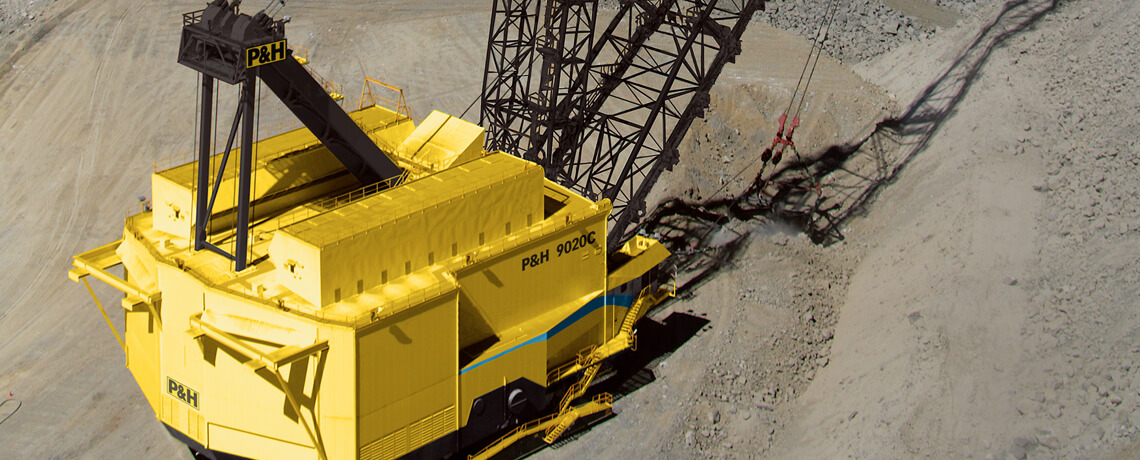 P&H, Surface mining, Draglines