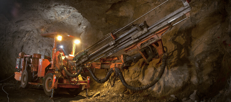 Mining copper