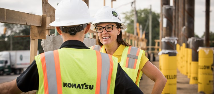 Women in Engineering at Komatsu