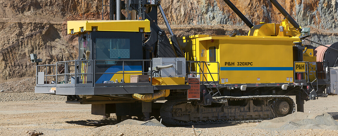 P&H, Surface mining, Blasthole Drills