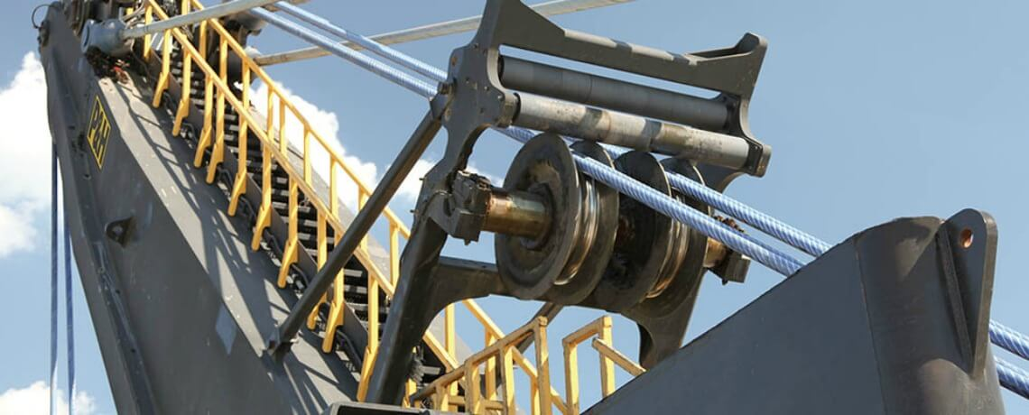 Electric rope shovel upgrades rotator