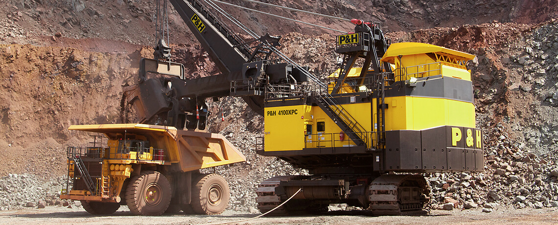 P&H, Surface mining, Electric Rope Shovels
