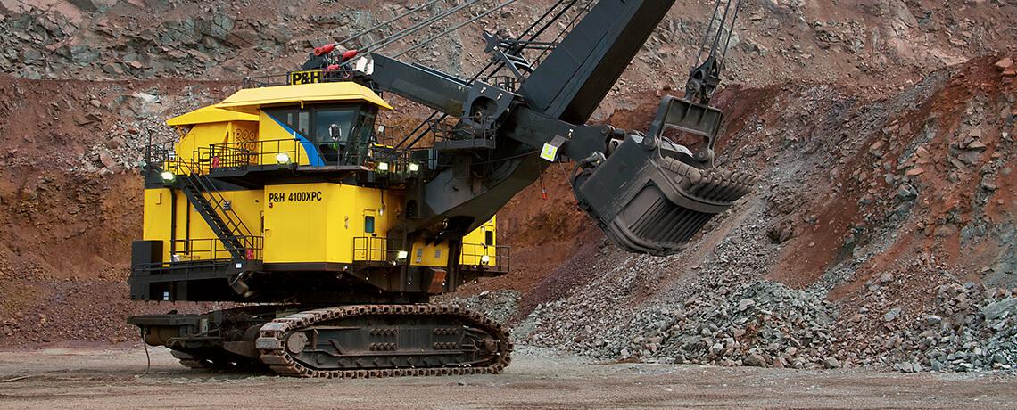 P&H Electric Rope Shovels - Surface Mining | Komatsu Mining Corp.