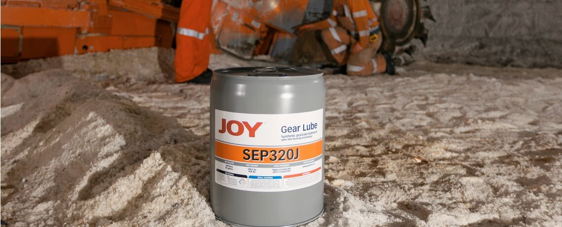 Gear lube in underground mine site