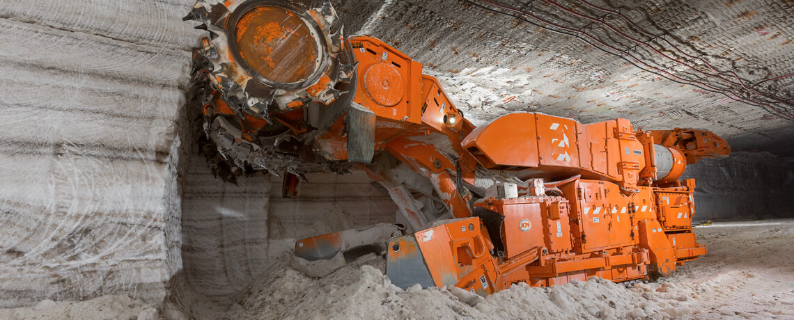 Joy, Underground mining, Industrial Minerals