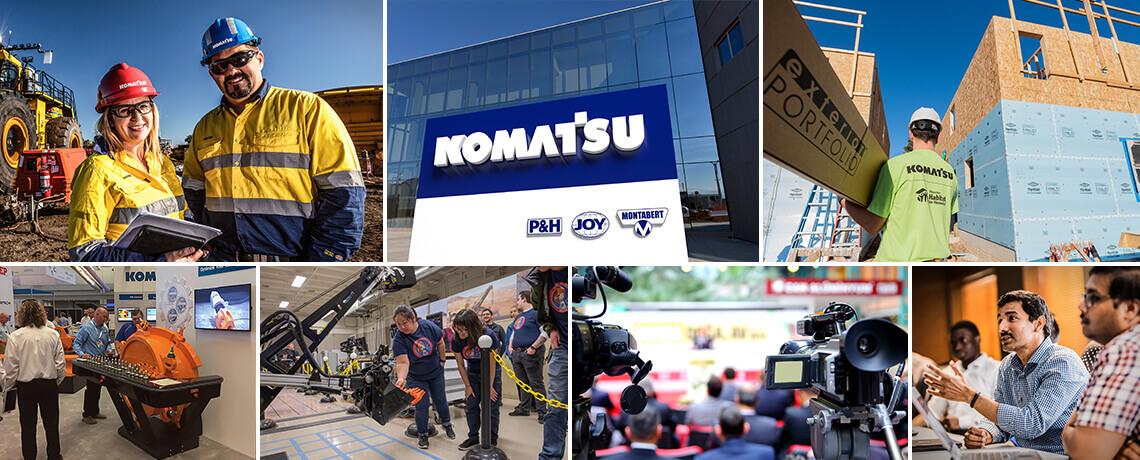 À propos de Komatsu Mining Corp