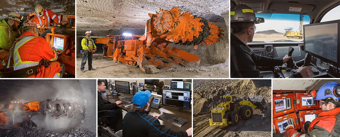 Mining technology - Komatsu Mining Corp