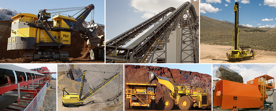 Surface mining equipment - Komatsu Mining Corp