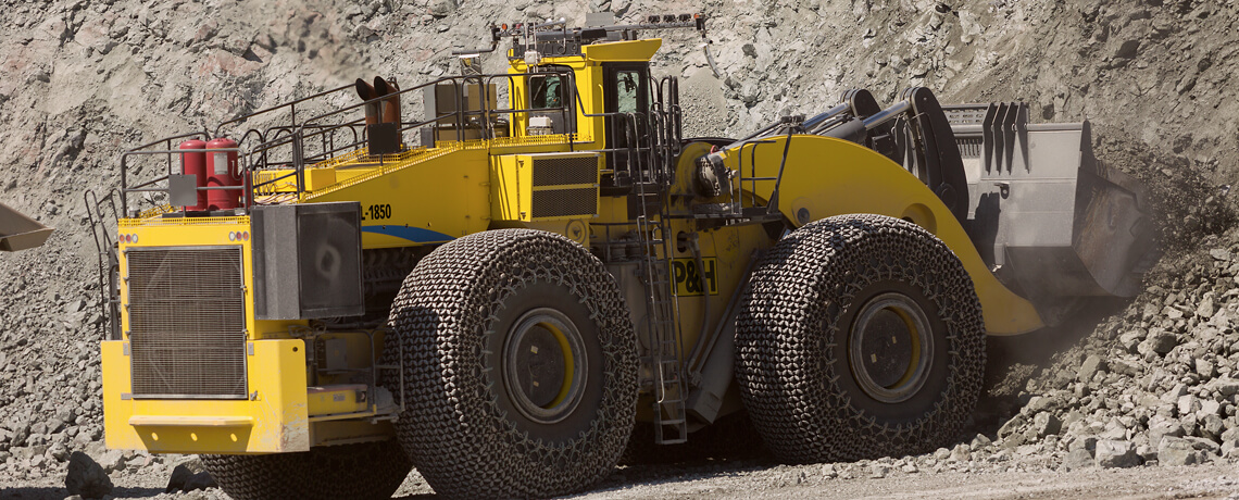 P&H, Surface mining, Wheel Loaders