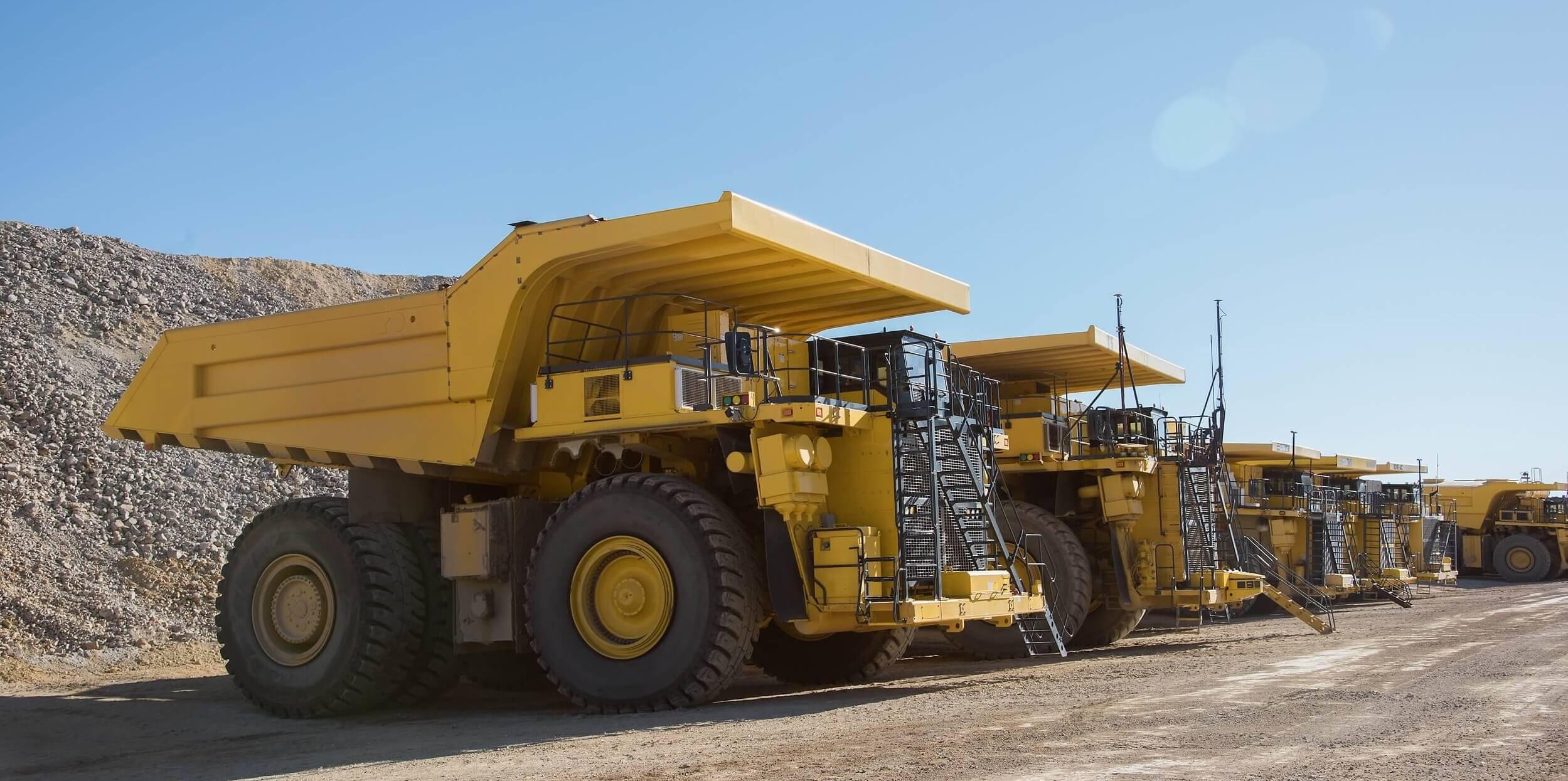 Komatsu Mining Haul Trucks