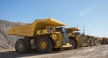Komatsu mining haul truck