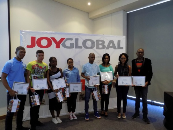 Joy Global, Community relations, Joy Global Foundation awards - 1