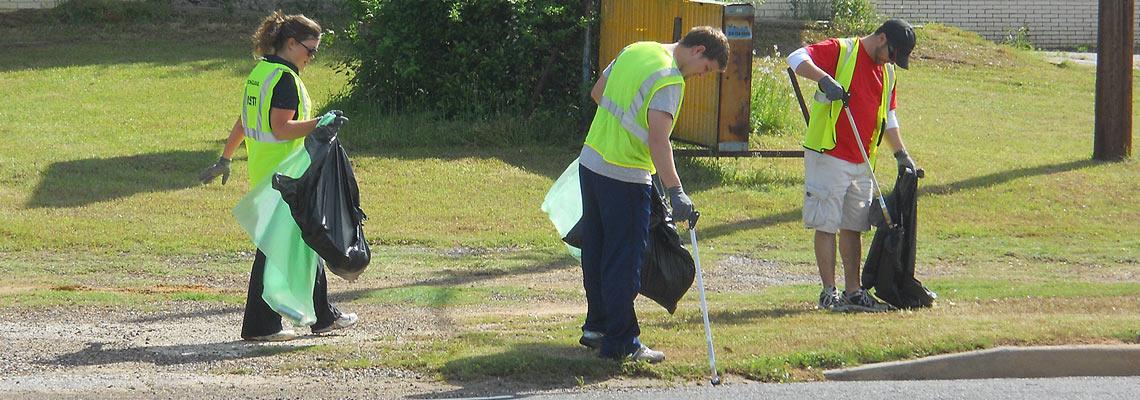 Longview Clean-up
