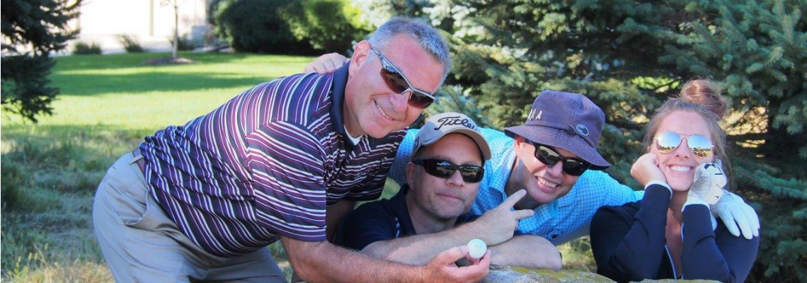 Supplier golf outing