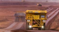 Autonomous Truck Rio Tinto Mine