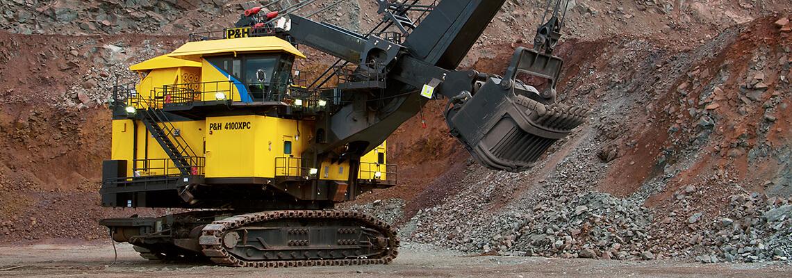 Komatsu Mining P&H 4100XPC electric rope shovel