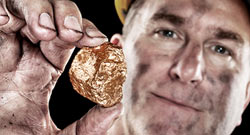 Joy Global, Markets, Hard rock minerals, Gold, a modern day gold mine, preview