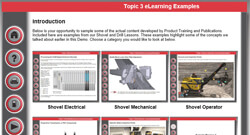 Joy Global, Technical and field services, Product training, Customer E-Learning Portal, preview