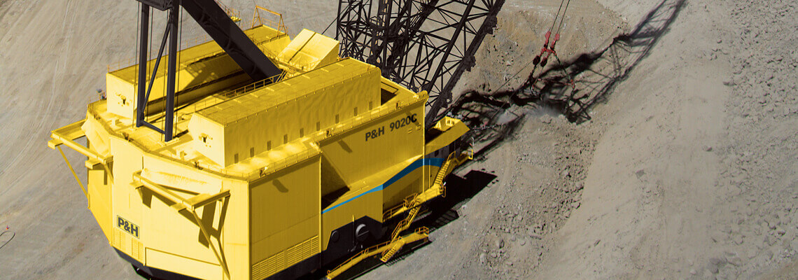 Komatsu Mining P&H 9020C dragline