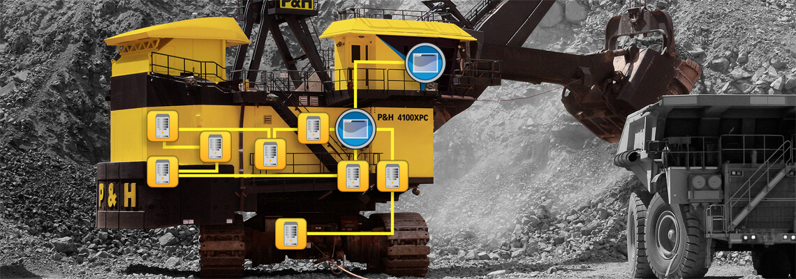 Joy Global, Technology, Controls and Drives, Centurion Shovel Control System