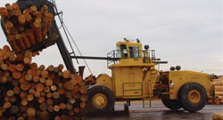 Joy Global, Non-mining, Forestry Log Stackers, 55 series log stacker, preview