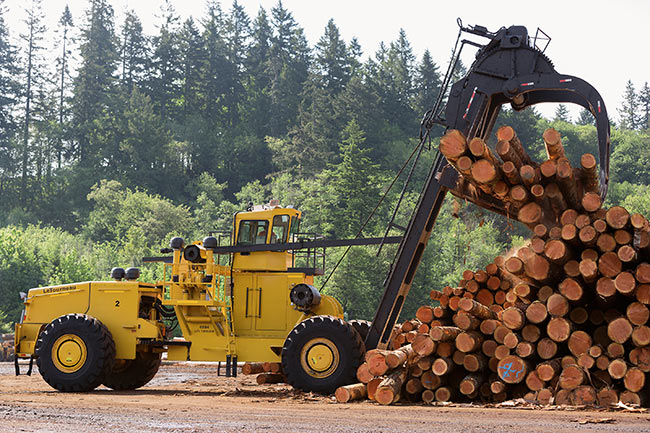 45 series log stacker
