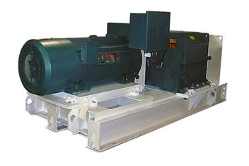 This is a Joy conveyor drive made by Komatsu Mining (formerly Continental Conveyor).
