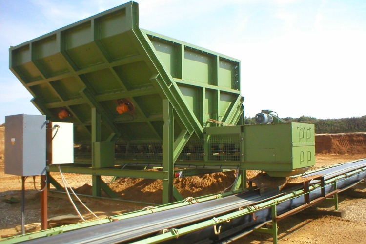 Joy Global, conveyors, traveling mobile hoppers - 2
