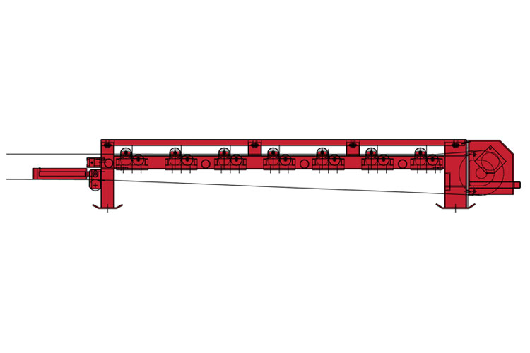 Joy (former Continental Conveyors), Tail section, Surface conveyor systems terminals