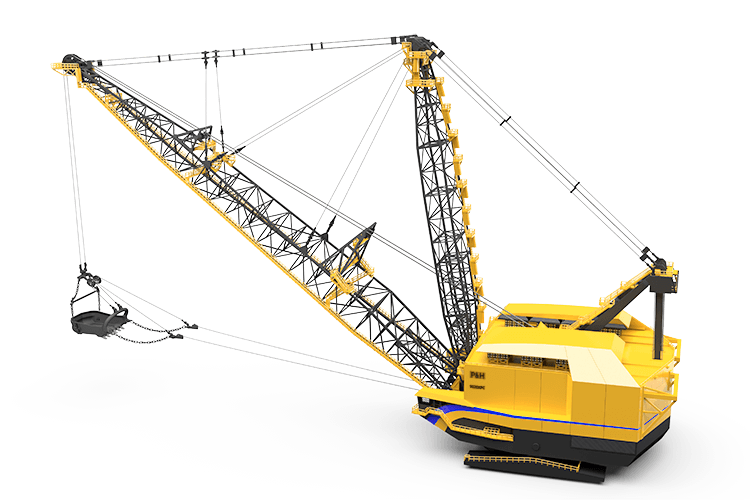 P&H, 9020XPC, Dragline
