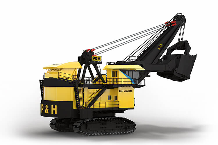 P&H, 4800XPC, Electric Rope Shovel
