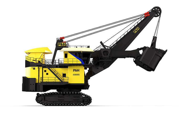 P&H, 4100XPC, Electric Rope Shovel