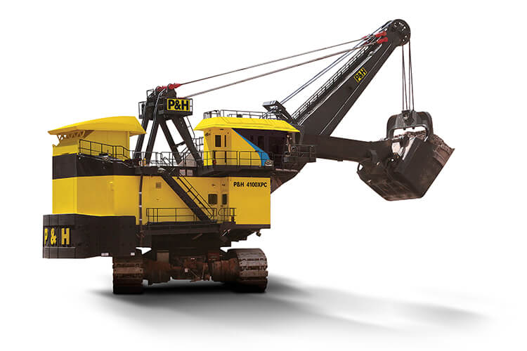 P&H 4100XPC-AC90 钢丝绳电铲