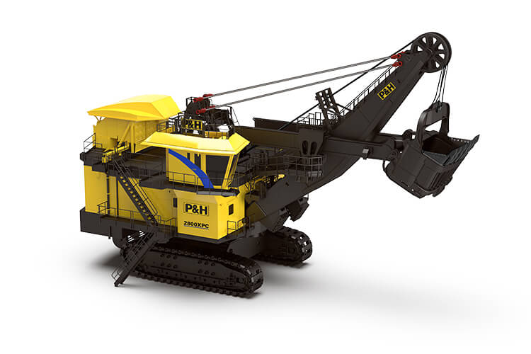 P&H 2800XPC Electric Rope Shovel - Surface Mining | Komatsu