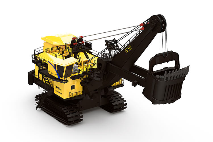 P&H, 4100C BOSS, Electric Rope Shovel