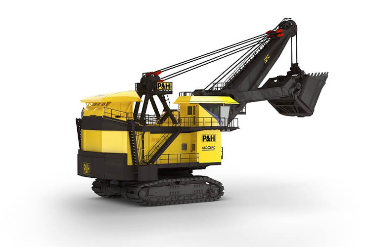 P&H 4800XPC electric rope shovel