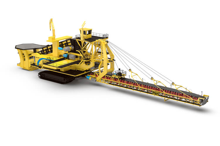 P&H, 4170C, Mobile Mining Crusher