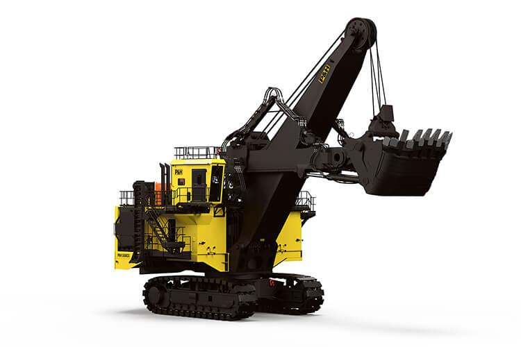 P&H, 2650CX, Hybrid Excavator