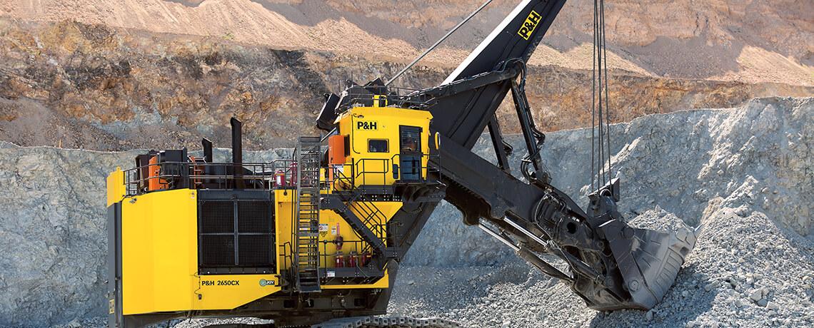 P&H Hybrid Excavators