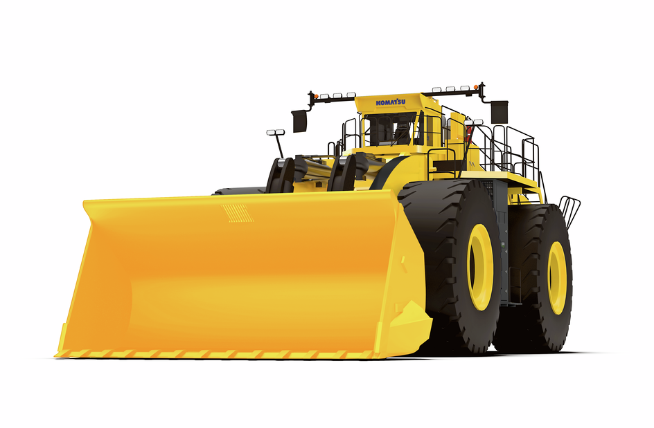 P&H, L-2350, Wheel Loader