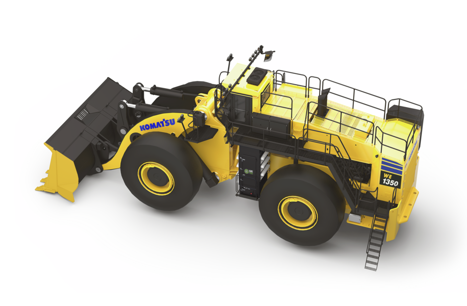 P&H, L-1350, Wheel Loader