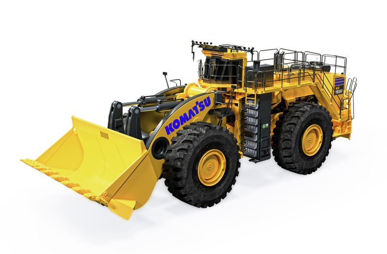 P&H, L-1850, Wheel Loader