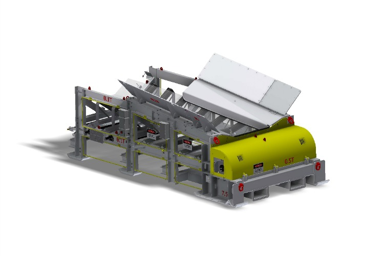 Joy Global, Boot end, Terminals, Underground conveyor system