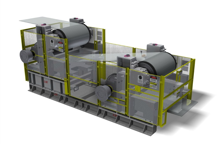 Joy Global, Drive frame, Drives, Underground conveyor system