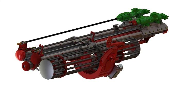 Timberock bolter system