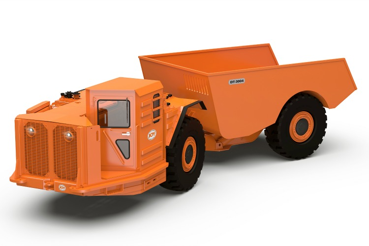 Joy (former MTI), DT-3004, Haulage Truck