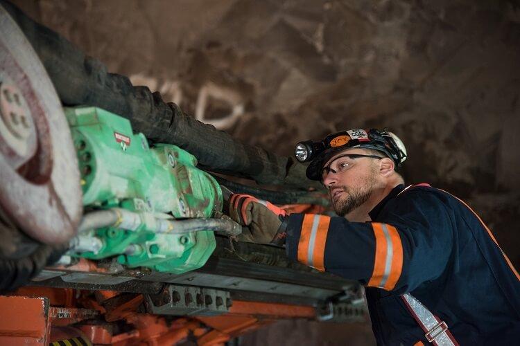 Hard rock drilling conversions