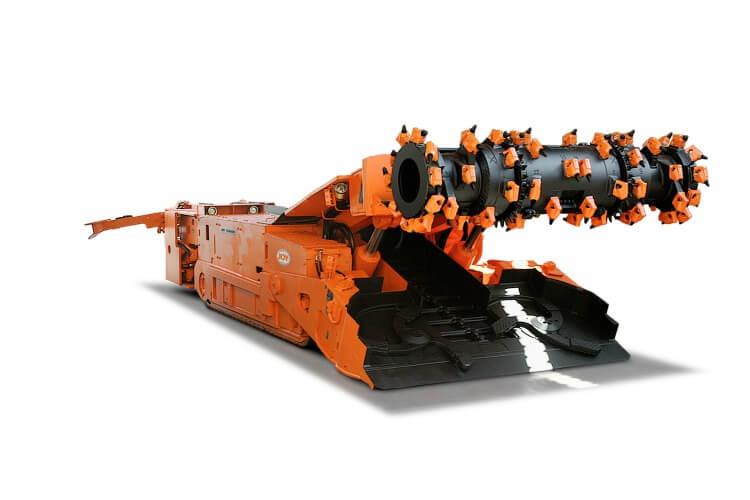 Joy 12HM31 continuous miner