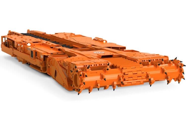 Joy 14CM10 continuous miner